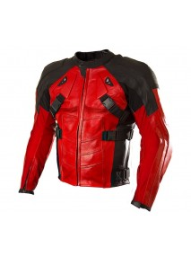 Deadpool Armor Motorcycle Jacket