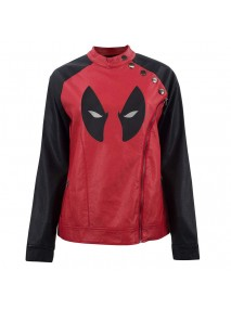 Deadpool Women Eye Logo Jacket