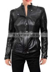 Dr Helen Magnus Sanctuary Leather Jacket