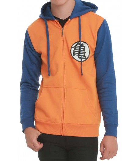 Dragon Ball Z Organ and Blue Hoodie