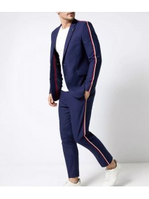 Elite S03 Guzmán Side Stripe Suit