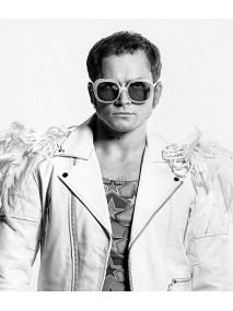 Rocketman Elton John Leather Jacket