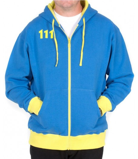 Vault 111 Fallout 4 Hooded Jacket