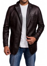 Wild Card Jason Statham Leather Jacket as Nick Escalante