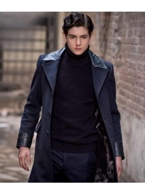 David Mazouz Gotham Trench Coat
