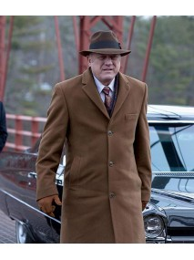 Carmine Falcone Gotham Brown Long Coat