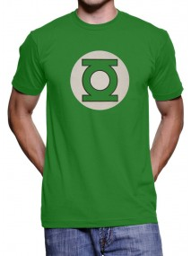 Kelly Green Color Green Lantern T-Shirt