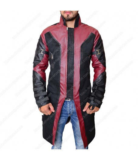The Avengers Age of Ultron Hawkeye Coat