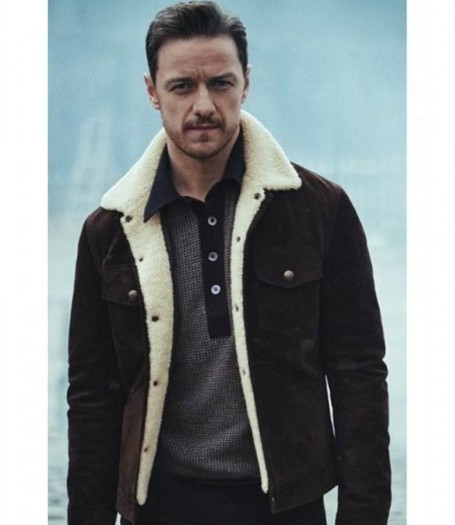 His Dark Materials Lord Asriel Suede Jacket