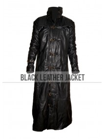 Hugh Jackman Gabriel Van Helsing Leather Trench Coat