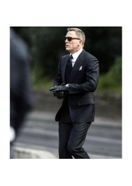 James Bond Spectre Herringbone Suit
