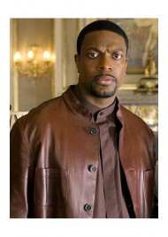James Carter Rush Hour 3 Chris Tucker Leather Jacket