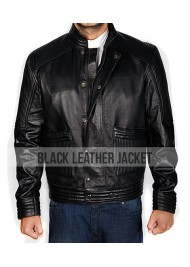 Theo James Dauntless Divergent Leather Jacket