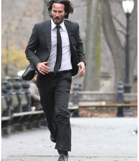 John Wick 2 Keanu Reeves Black Suit