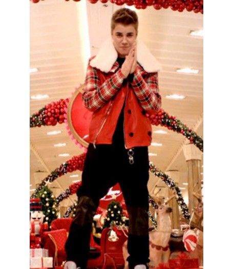 Justin Bieber All I Want For Christmas Is You Jacket