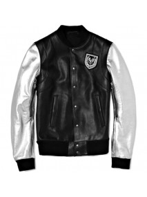 Justin Bieber Grey Sleeves Balmain Jacket
