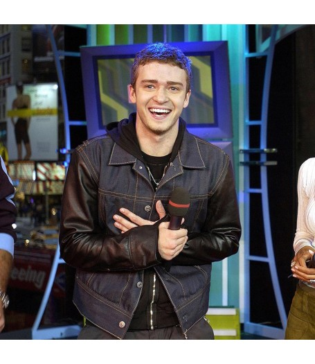 Justin Timberlake Time Square Denim Jacket