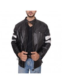 Keanu Reeves John Wick Biker Leather Jacket