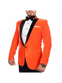 Eggsy Orange Kingsman Tuxedo Jacket