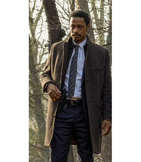 LaKeith Stanfield Knives Out Wool Blend Coat