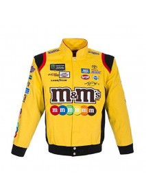 Kyle Busch m&m's Leather Jacket