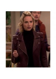 Last Man Standing Molly McCook Leather Jacket