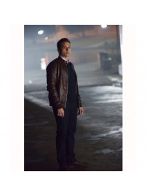 Castle Kevin Ryan Bomber Leather Jacket