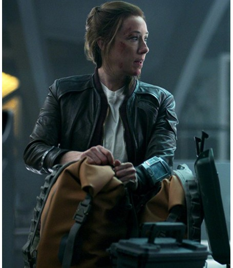 Molly Parker Lost In Space Jacket