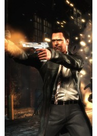 Max Payne 3 Game Leather Jacket Coat