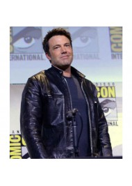 Zack Snyders Justice League Ben Affleck Leather Jacket