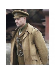 1917 Movie Mark Strong Trench Coat