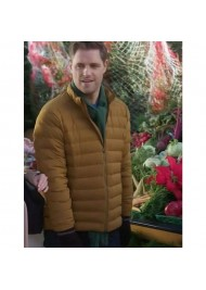 A Godwink Christmas: Second Chance, First Love Sam Page Puffer Jacket
