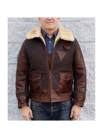 AN-J-4 Aviator Flight Jacket