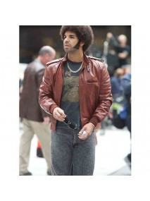 Anchorman 2 Drake Leather Jacket