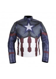 Avengers Endgame Chris Evans Leather Jacket