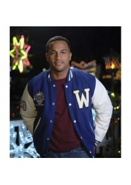 Christmas Comes Twice Michael Xavier Letterman Jacket