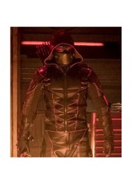 Crisis On Earth X Dark Arrow Jacket With Quiver