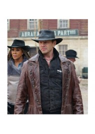 Fin The Last Sharknado It's About Time Trench Coat