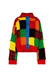 Harry Style Color Block Cardigan