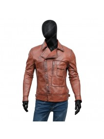 Howard Hughes The Aviator Leather Jacket