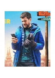 Jack Whitehall Travels With My Father Blue Parka