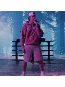 Justin Bieber Live Performance Hold On Pink Hoodie