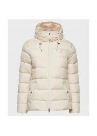 Mens Cream Winter Puffer Jacket