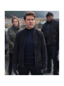 MI6 Tom Cruise Suede Jacket