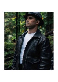 Project Blue Book S02 Michael Malarkey Leather Jacket