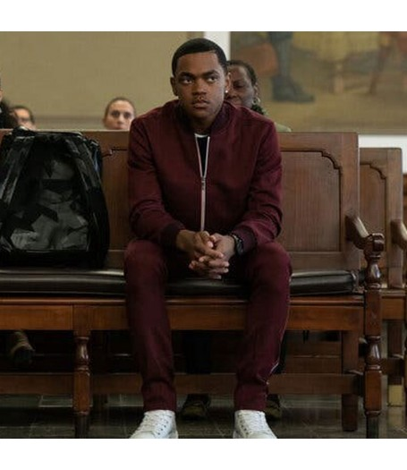 Power Book II Ghost Michael Rainey Jr. Tracksuit