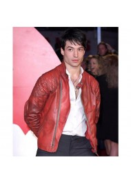 Premiere of Batman V Superman Ezra Miller Jacket