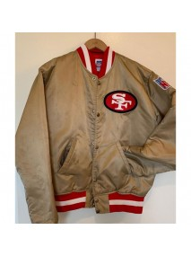 San Francisco 49ers Gold Jacket