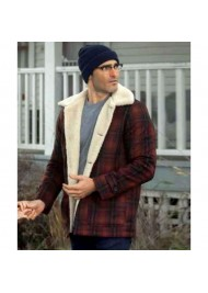 Superman and Lois Clark Kent Plaid Jacket
