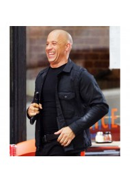 The Fate Of The Furious Vin Diesel Black Jacket